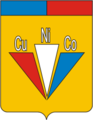 Coat of Arms of Monchegorsk (Murmansk oblast) (1987).png
