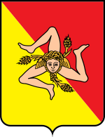 Coat of arms of Sicily.svg