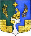 Coat of arms of the Pudostskoye rural settlement, Gatchina District, Leningrad Oblast, Russia.jpg