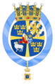 Coats of arms of Princess Leonore, Duchess of Gotland.PNG