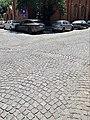 Cobblestone pavement of the Alexandru D. Xenopol Street 1.jpg