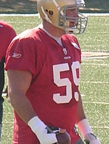 Cody Wallace at 49ers training camp 2010-08-11.JPG