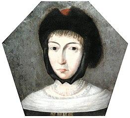 Coffin portrait of Marianna Pstrokońska née Działyńska.