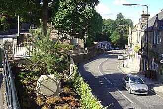 Colinton - Bridge Street, Colinton in 2005