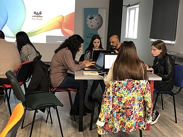 Collaboration between Wikimedia Armenia and Central Bank of Armenia.jpg