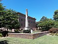 College cemetery, William and Mary, obelisk of Lucian Minor visible.jpg