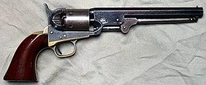 Colt 1851 Navy Revolver - Colt Navy Model 1851