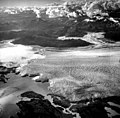 Columbia Glacier, Terentiev Lake, Calving Terminus and Calving Distributary, August 12, 1961 (GLACIERS 1082).jpg