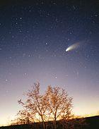 O cometa ganhou estatuto de grande cometa no início do ano de 1997