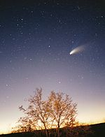 Hale-Bopp comet, February 23, 1997