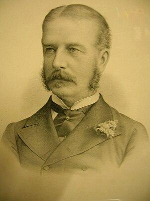 Thomas Gleadowe-Newcomen, 2nd Viscount Newcomen - Greville Richard Vernon, son of Lord Lyveden.