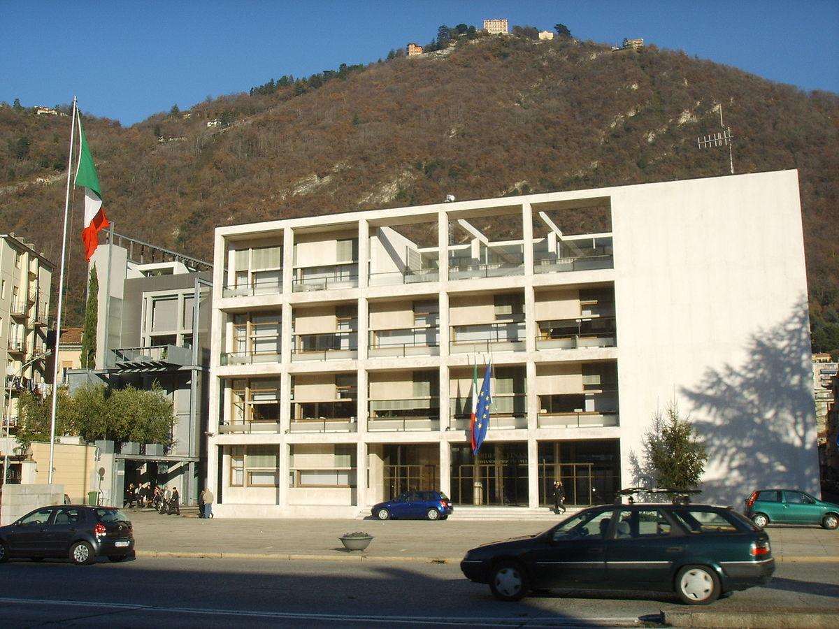 Casa del fascio como wikipedia for Casa moderna wiki