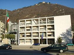 Rationalism architecture wikipedia for Giuseppe terragni casa del fascio