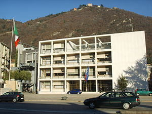 Rationalism (architecture) - The former Casa del Fascio in Como, Italy, designed by Giuseppe Terragni.