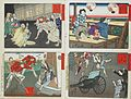 Compiled Album from Four Series- A Mirror of Famous Generals of Japan; Comic Pictures of Famous Places in Civilizing Tokyo; Twenty-four Accomplishments in Imperial Japan; Twenty-four Hours LACMA M.84.31.30 (4 of 35).jpg