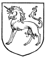 Fig. 416.—Unicorn statant.