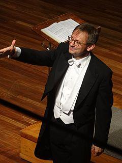 Simon Halsey British conductor
