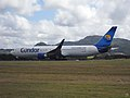 Condor Airlines Boeing 767-300ER (D-ABUD) at Sir Seewoosagur Ramgoolam International Airport.jpg