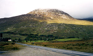 Connemara - Connemara on a cloudy day.