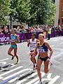 Constantina Dita (Roumania) Triyaningsih (Indonesia) Maria Peralta (Argentina) - London 2012 Women's Marathon.jpg