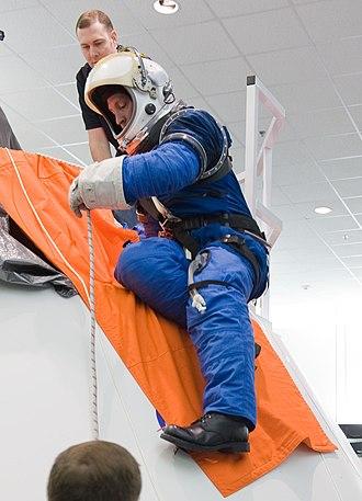 Oceaneering International - Image of early Constellation Space Suit prototype - February 2010