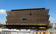 Construction of the National Museum of African American History and Culture.JPG