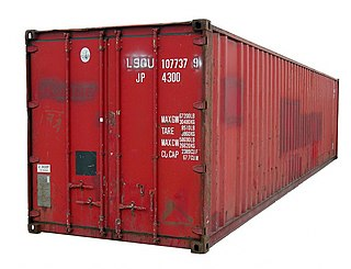 Standardized reusable steel box used for transporting goods