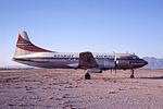 Convair 340 N3427 Tucson 16Mar69 (Peter B.Lewis via RJF) (21607187975).jpg