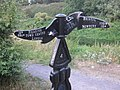 Cool signpost for National Cycle Network route 4 - geograph.org.uk - 219649.jpg