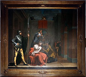 Francesco Costanzo Cattaneo - Christ mocked, San Giorgio, Ferrara