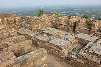 Jamal Garhi - Image: Court of Votive Stupas at Jamal Garhi