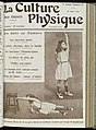 Cover of 'La Culture Physique', 15th August 1908 Wellcome L0038405.jpg