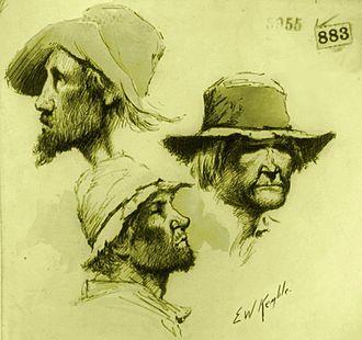 Poor White - Georgia Poor White types as illustrated by E. W. Kemble