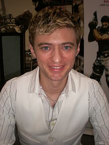 Crispin Freeman at Super-Con 2009 1.JPG