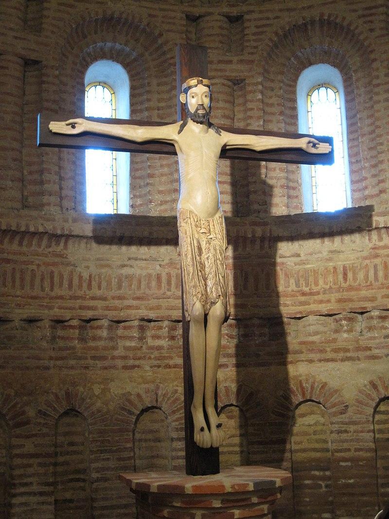 Cristo románico, Santervás.jpg