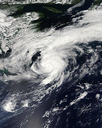 2008 Atlantic hurricane season - Image: Cristobal 2008 07 22 1745Z