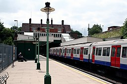 Croxley station, Metropolitan line - geograph.org.uk - 1749869