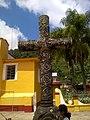 Cruz atrial en Parroquia de San Francisco de Asís en Zongolica, Veracruz.jpg