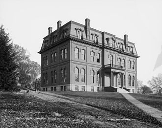Edward Dow (architect) - Culver Hall, New Hampshire College, 1869.