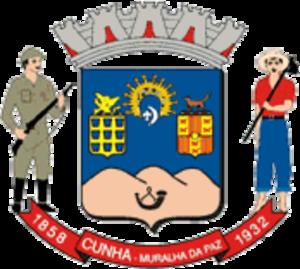 Cunha, São Paulo - Image: Cunha brasao