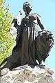 Détail de la statue se trouvant sur le carreffour giratoire à Salon-de-Provence 2.JPG