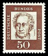 DBP 1961 356 Johann Wolfgang von Goethe