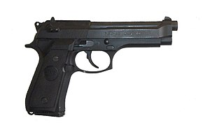 Beretta 92 - The French-made PAMAS G1 variant.