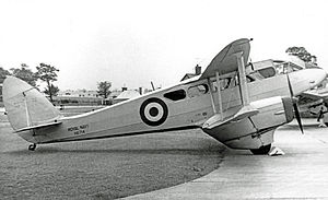 De Havilland Dragon Rapide - Dominie of the Royal Navy