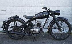 DKW RT 125 W (1950г.)