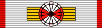 Tage Reedtz-Thott - Image: DNK Order of Danebrog Grand Cross BAR