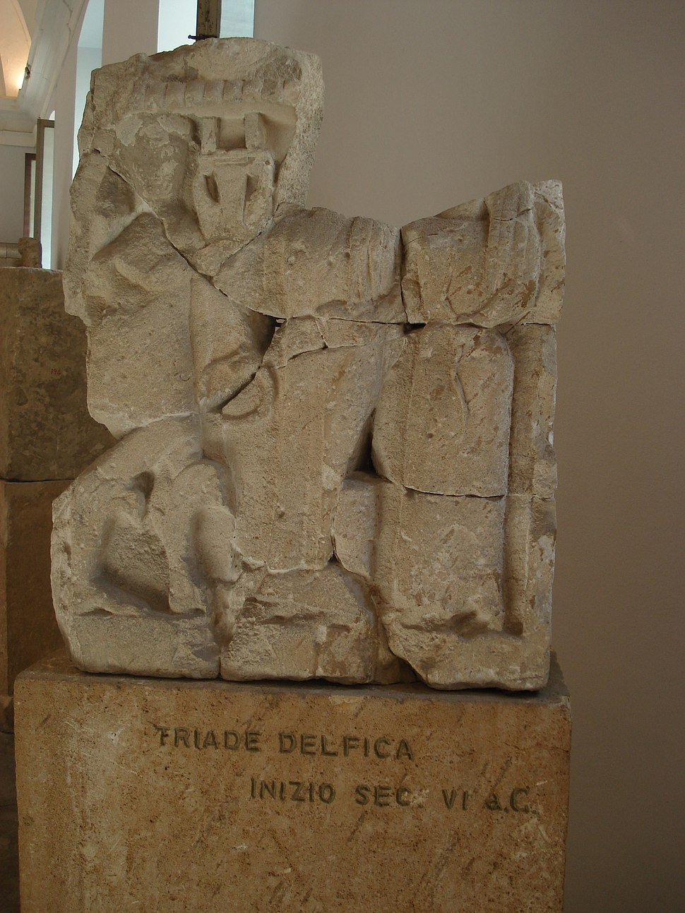 DSC00415 - Tempio Y di Selinunte sec. VIa.C. - Traide delfica - Foto G. Dall'Orto
