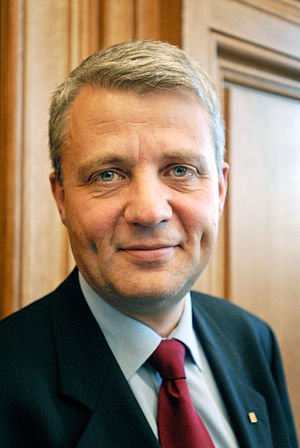 Minister of Health and Care Services - Image: Dagfinn Hoybraten, blivande president for Nordiska radet 2007