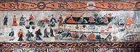 Dahuting tomb banquet scene, Eastern Han mural.jpg