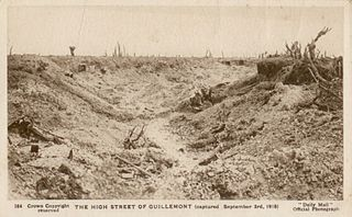 Daily Mail Postcard -The High Street of Guillemont.jpg